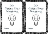 Genius Hour Planning Notebook
