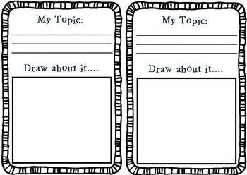 Genius Hour Planning Notebook