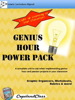 Genius Hour PowerPack