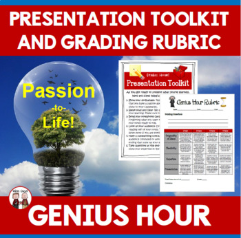 Genius Hour Presentation Tips and Rubric