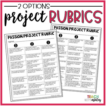 Passion Projects that are Primary Friendly