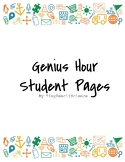 Genius Hour Project Student Pages