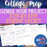 Genius Hour Project (student packet with step-by-step instructions)