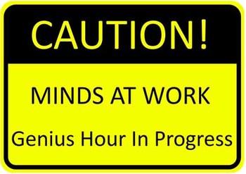 Genius Hour Sign