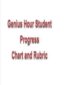 Genius Hour Student Progress Chart and Rubric