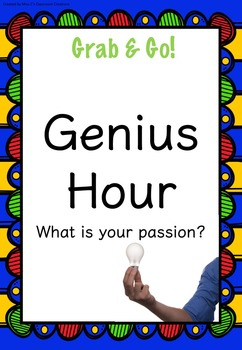 Genius Hour {UNIT} (Fully Resourced!)