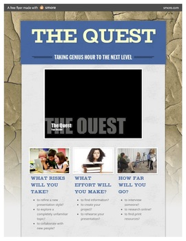 Genius Hour - The Quest