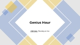 Genius Hour Training: Project Step #1 Choosing and Idea
