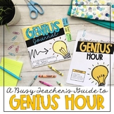 Genius Hour Unit Plan with Planning Sheets, Rubric, & Student Journal