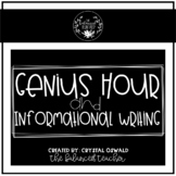 Genius Hour and Informational Writing