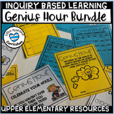 Genius Hour and Passion Project Template Bundle Notebook Bulletin Board and More