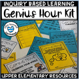Genius Hour for Elementary Passion Project Template