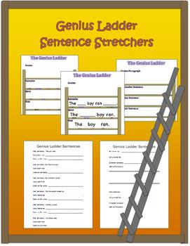 Genius Ladder Sentence Stretchers