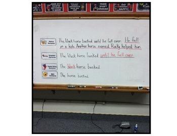 Genius Ladder/WBT/Whole Brain Teaching/Writing