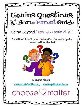 Genius Questions- An At Home Parent Guide