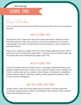 Genius Time Handbook