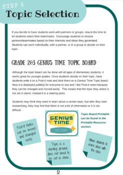 Genius Hour Handbook
