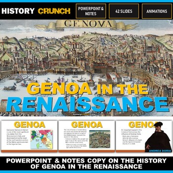 Genoa in the Renaissance - PowerPoint with Notes Copy