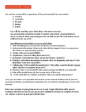 Genocide Project outline and background information