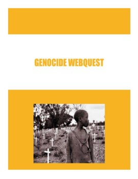 Genocide Webquest by Busy Bee Social Studies | Teachers ...