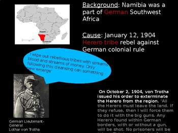 Genocide in Africa PowerPoint