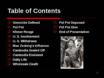 Genocide in the 20th Century - Pol Pot in Cambodia