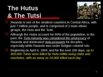Genocide in the 20th Century - Rwanda