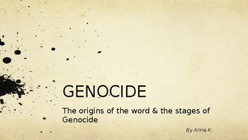 Genocide -- ppt