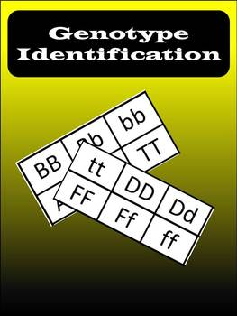 Genotype Identification Game