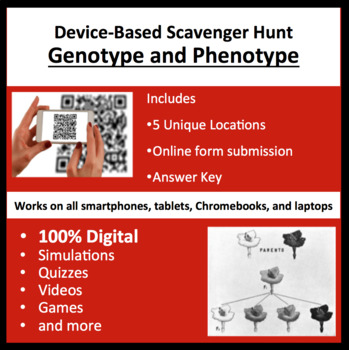 Genotype and Phenotype – A Digital Scavenger Hunt Activity