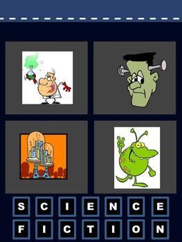 Genre: 4 PICS 1 WORD Powerpoint Game {FREEBIE}