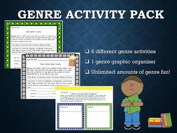 Genre Activities Bundle
