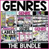 Genre Activities Bundle: Genre Posters, Word Wall, Digital