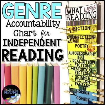 Genre Activity: Genre Clip Chart for Independent Reading Accountability