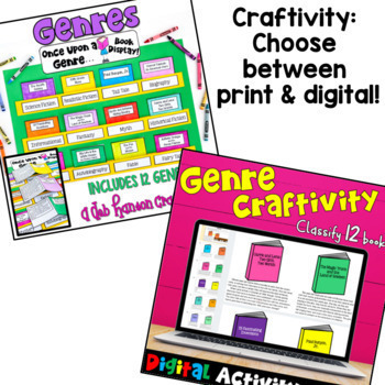 Genres: A Bundle of Activities