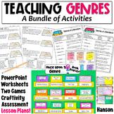 Genres: A Bundle of Activities