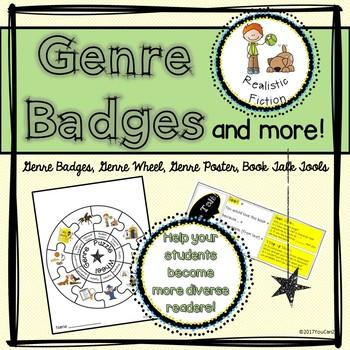 Genre Badges, Genre Wheel, Book Talk Tools