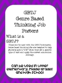 Genre Based Thinking Job Posters