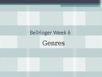 Genre Bellringers