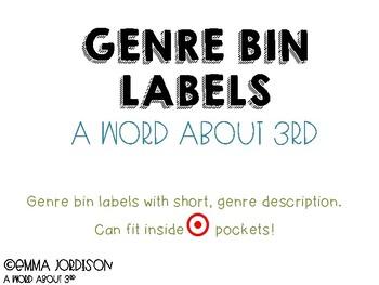 Genre Bin Labels