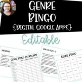 Genre Bingo EDITABLE {Google Apps}