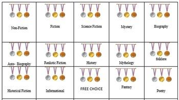 Genre Bingo - Olympics