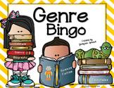 Genre Bingo and Reading Log
