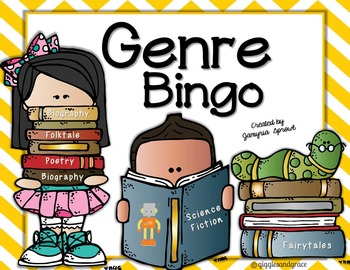 Genre Bingo and Reading Log