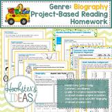 Genre: Biography Project-Based Reading Homework