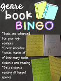 Genre Book BINGO-Editable
