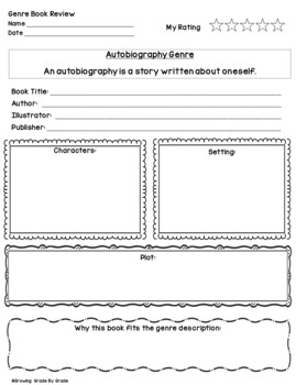 Book Report Templates, Book Club, and Reading Comprehension Literacy Posters