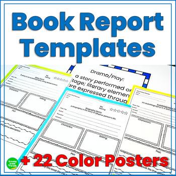 Genre Book Club, Reading Comprehension, Book Reports, Lite