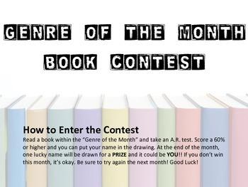 Genre Book Contest