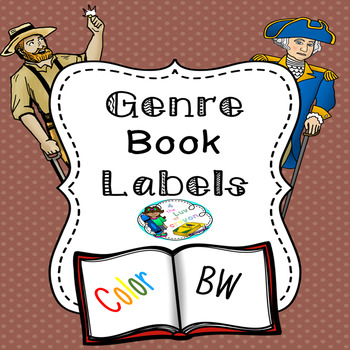 Genre Book Labels